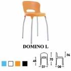 Kursi Bar & Cafe Savello Domino L
