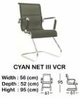 Kursi Hadap Indachi Type Cyan NET III VCR