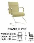 Kursi Hadap Indachi Type Cyan S III VCR