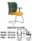 Kursi Hadap Indachi Type Vecto III VCR