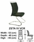 Kursi Hadap Indachi Type Zeta IV VCR