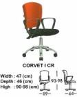 Kursi Staff & Sekretaris Indachi Corvet I CR