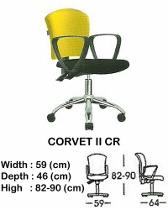 Kursi Staff & Sekretaris Indachi Corvet II CR