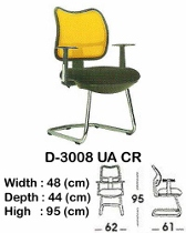 Kursi Hadap Indachi D-3008 UA CR