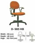 Kursi Staff & Sekretaris Indachi D-985 HB