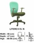 Kursi Staff & Sekretaris Indachi Litero II S-N