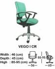 Kursi Staff & Sekretaris Indachi Vego I CR