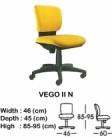 Kursi Staff & Sekretaris Indachi Vego II N