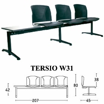 Kursi Tunggu Savello Type Tersio W31