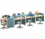 Partisi Kantor Uno Exclusive 7 Staff Configuration