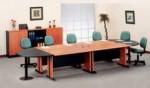 Meja Rapat Oval Besar 6 Orang
