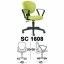 Kursi Sekretaris Chairman Type SC 1608