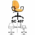 Kursi Sekretaris Chairman Type SC 407