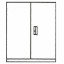 Multifile Cabinet System Alba MFC-108-2S/SW