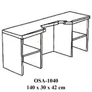 Rak Resepsionis Orbitrend Type OSA-1040