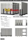 Mobile File Mekanik Alba MF AUM 3-03 (120 compartement)