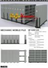 Mobile File Mekanik Alba MF AUM 3-05 (180 compartement)