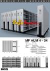 Mobile File Mekanik Alba MF AUM 4-04 (200 compartement)
