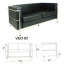 Sofa Kantor Chairman VEO-02