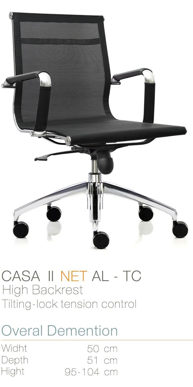 Kursi Kantor Inviti Casa II NET AL - TC