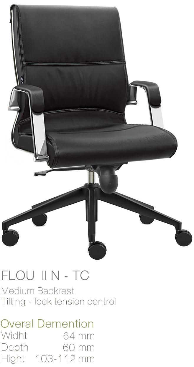 Kursi Kantor Inviti Flou II N - TC