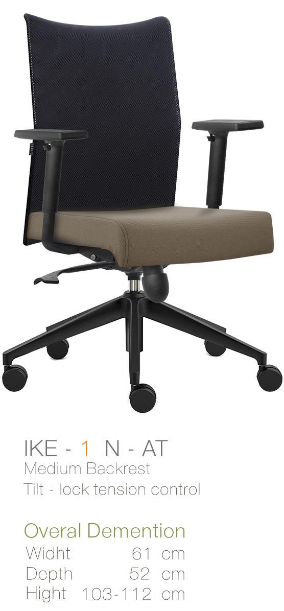 Kursi Kantor Inviti Ike 1 N - AT