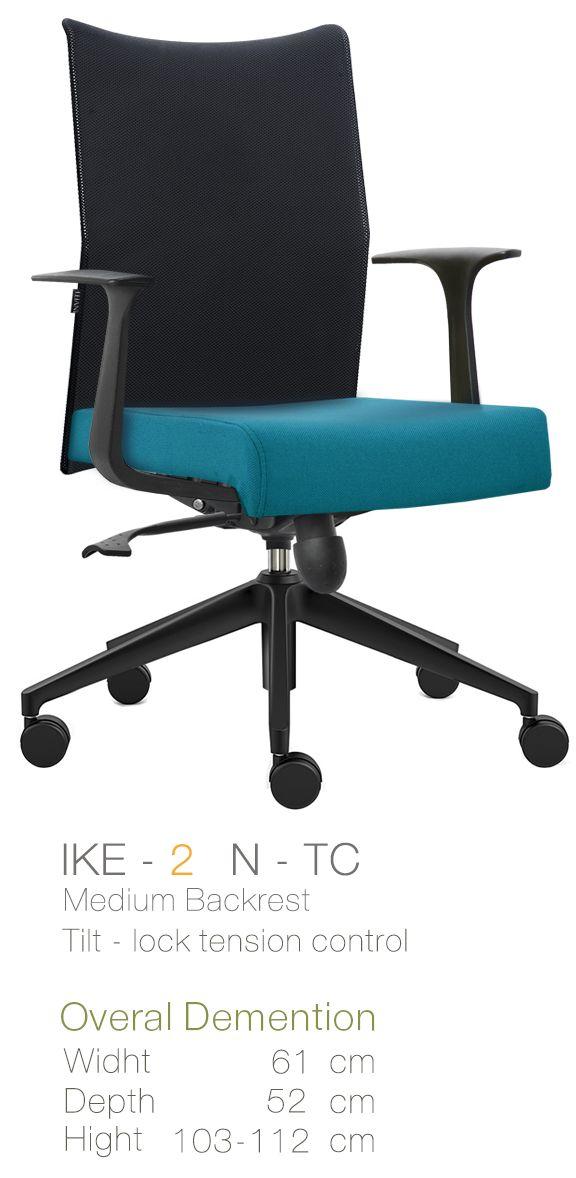 Kursi Kantor Inviti Ike 2 N - TC