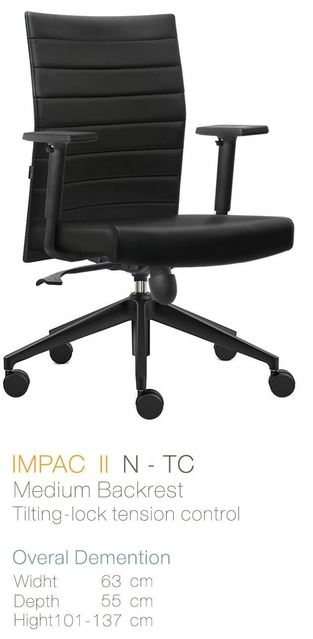 Kursi Kantor Inviti Impac II N - TC