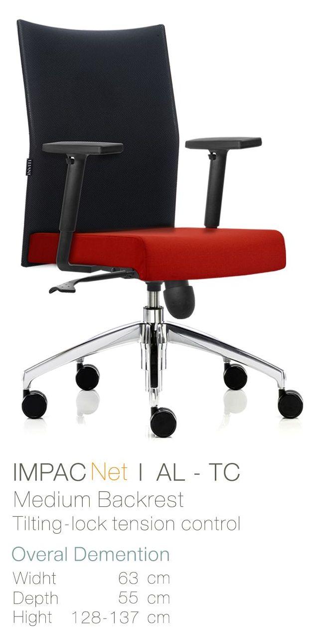 Kursi Kantor Inviti Impac Net 1 AL - TC