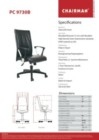 Kursi Kantor Chairman PC 9730 B