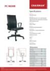 Kursi Kantor Chairman PC 9830 B