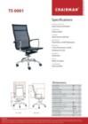 Kursi Kantor Chairman TS 0001