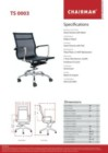 Kursi Kantor Chairman TS 0003