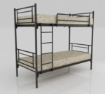Ranjang Besi Bunk Bed Orbitrend D-Square