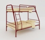 Ranjang Besi Bunk Bed Orbitrend New Mars