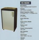 Mesin Penghancur Kertas Kozure KS-9600C