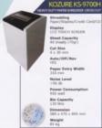 Mesin Penghancur Kertas Kozure KS-9700H