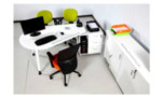 Meja Modera Office Plus OPS 2512 R